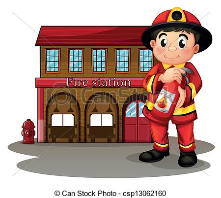 of a fire station holding.