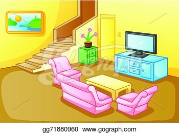 Of A House Living Room .-of a house living room .-16
