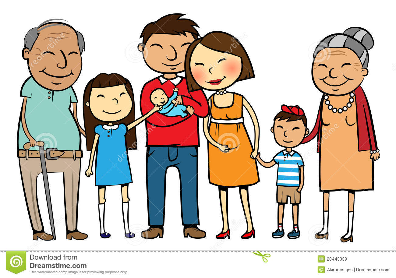 Of A Large Asian Family With .-Of A Large Asian Family With .-2