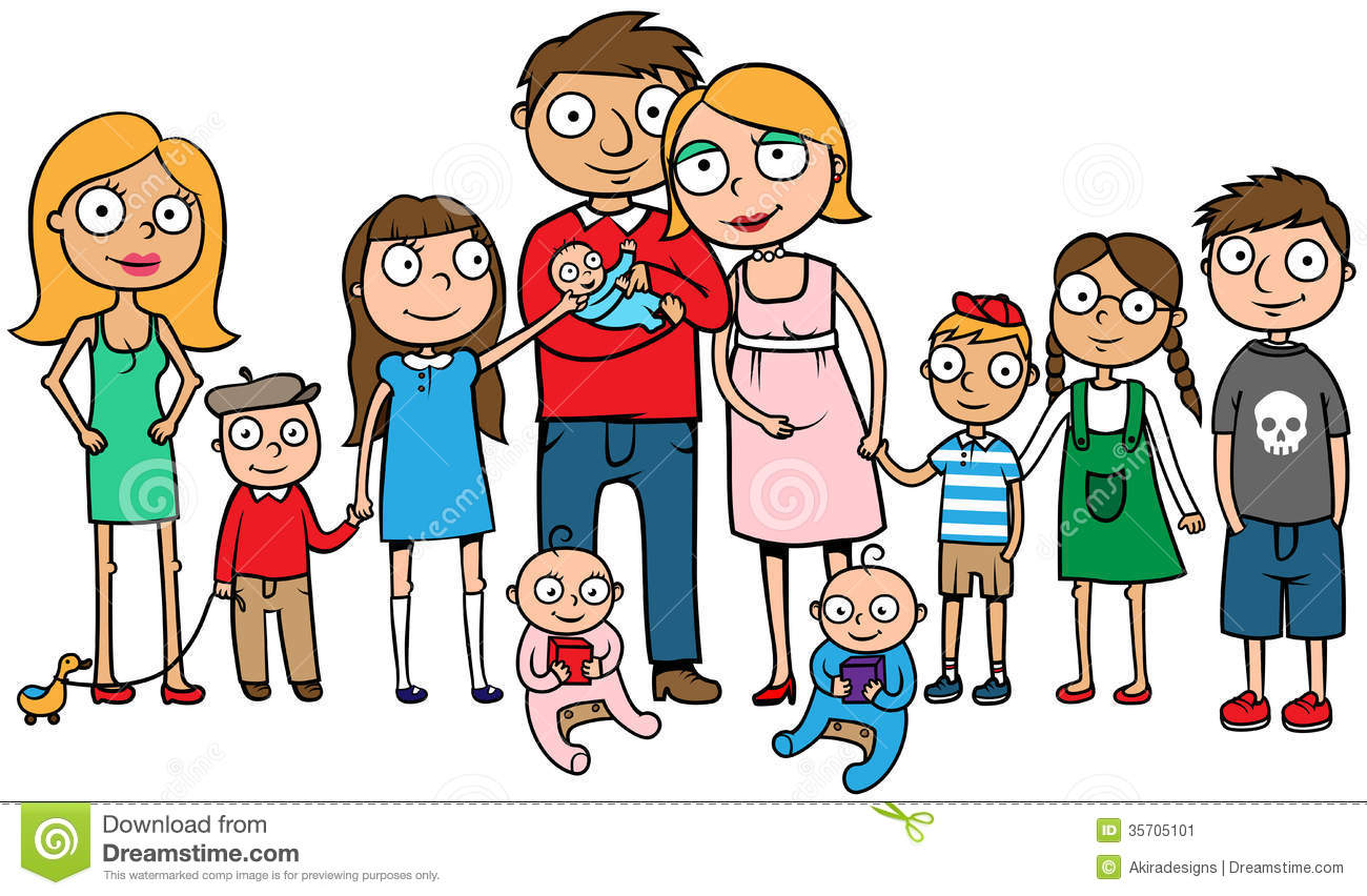 Of A Large Family With Many Children Hug-Of A Large Family With Many Children Huge Family With Ten Kids-1