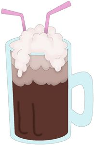 of coke float clipart. This f - Root Beer Float Clip Art