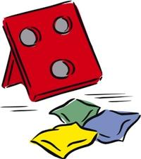 Image result for beanbag toss clipart