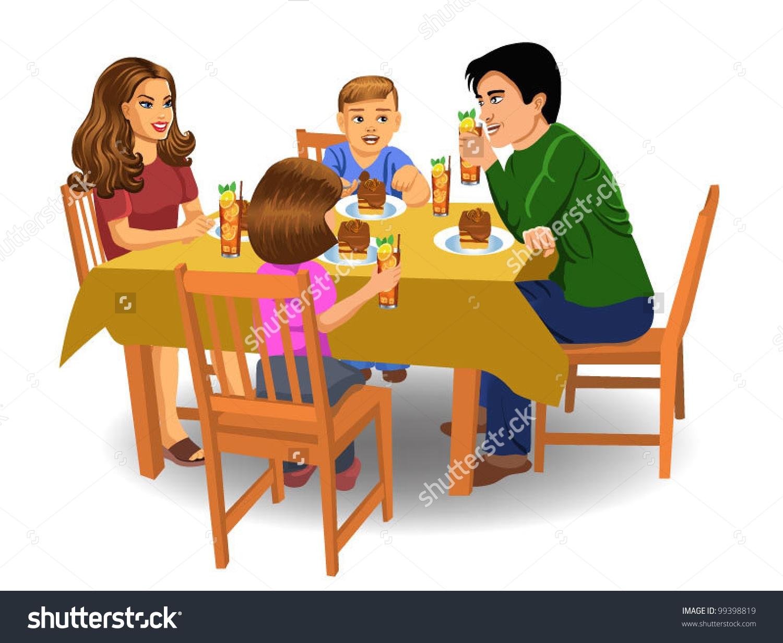 Of Family Eating Breakfast-of family eating breakfast-18