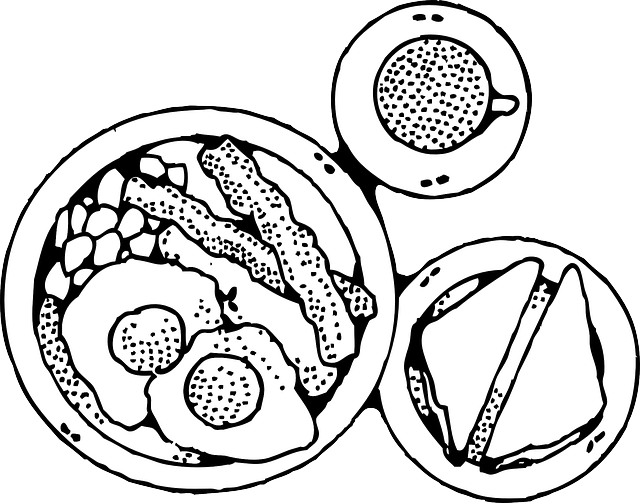 Of Food Clipart Black And White Clipart -Of Food Clipart Black And White Clipart Panda Free Clipart Images-17