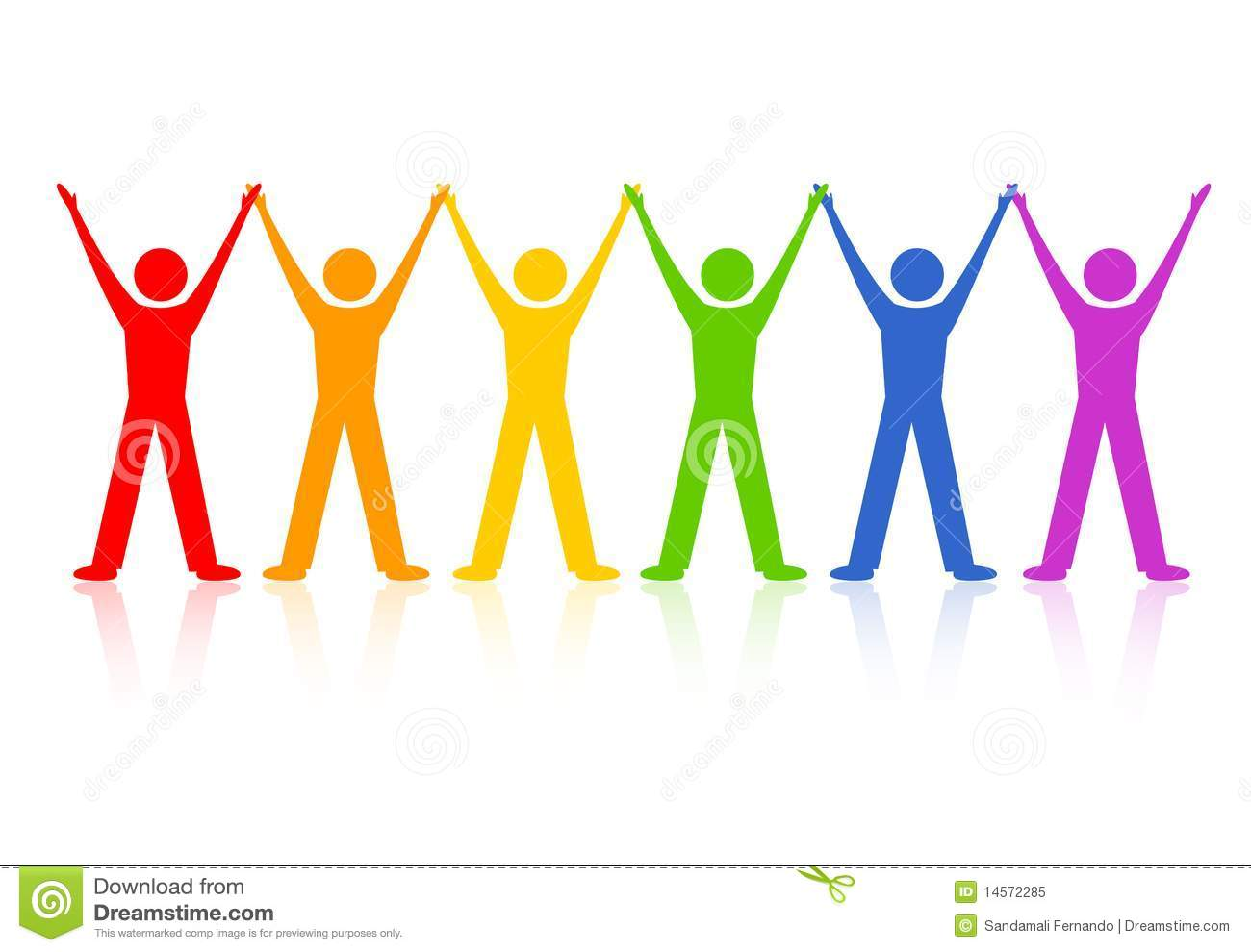 Of People Holding Hands Clipart Clipart Panda Free Clipart Images