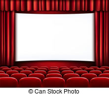 Of Red Cinema Or Theater