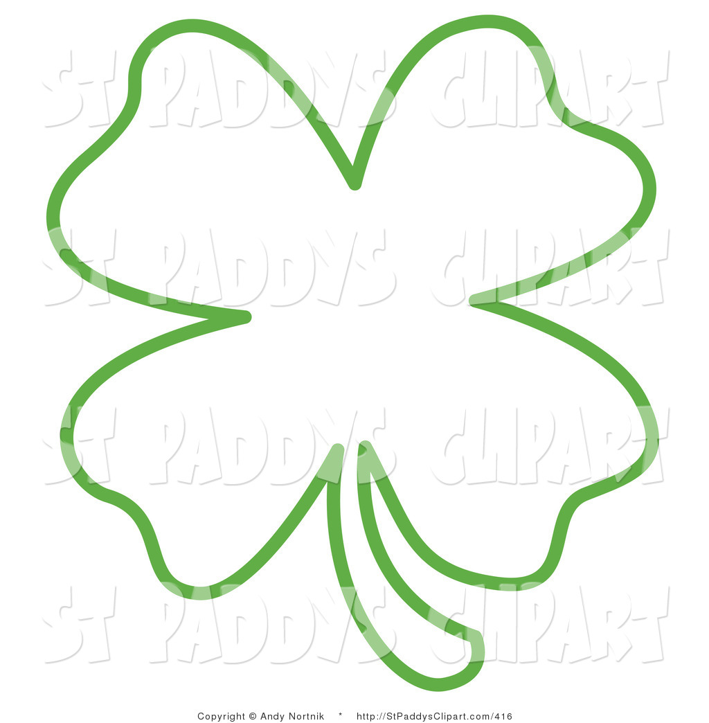 Of Shamrock Clover Illustrations And Cli-Of Shamrock Clover Illustrations And Clipart-10