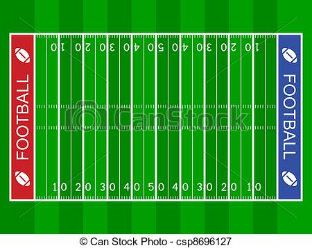 Of Vector American Football Field Csp869-Of Vector American Football Field Csp8696127 Search Clipart-19