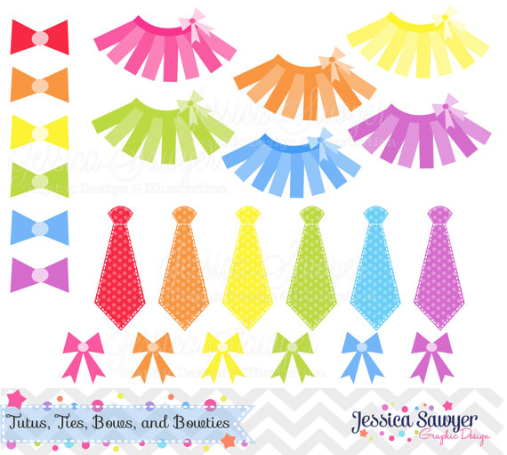 OFF - INSTANT DOWNLOAD, Tutu Clipart, Ti-OFF - INSTANT DOWNLOAD, tutu clipart, tie clip art, bow graphic, vector clipart, eps, bow tie image, for scrapooking, invitations, comm-8