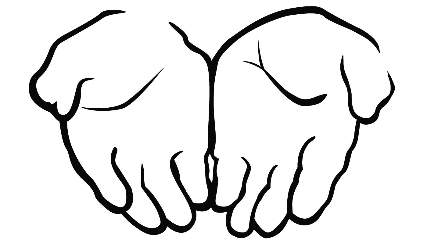 Offering Hands Clipart-Offering hands clipart-13