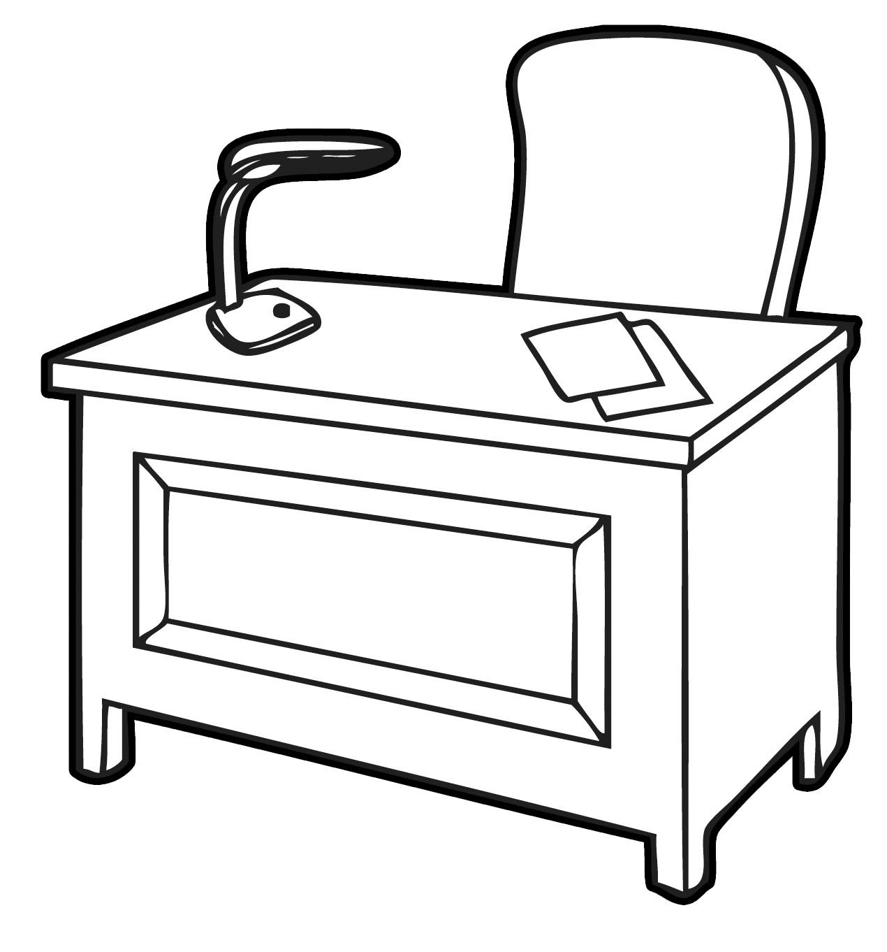 Office Desk Clipart-Office Desk Clipart-14