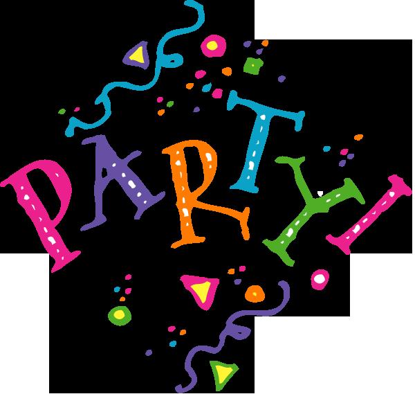 8 Party Clip Art