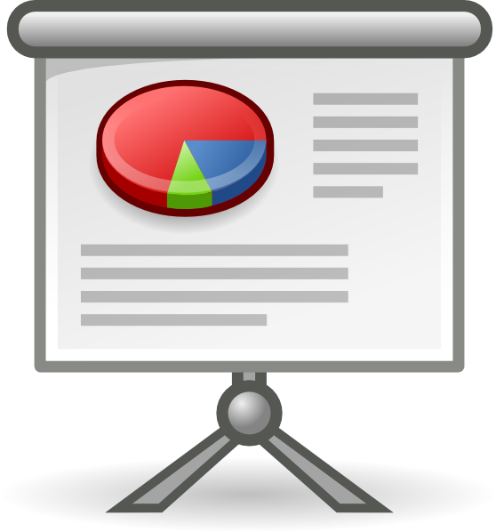 Office Presentation Clip Art At Clker Com Vector Clip Art Online