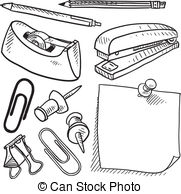 ... Office Supplies Sketch - Doodle Styl-... Office supplies sketch - Doodle style office supplies... Office supplies sketch Clipartby ...-11