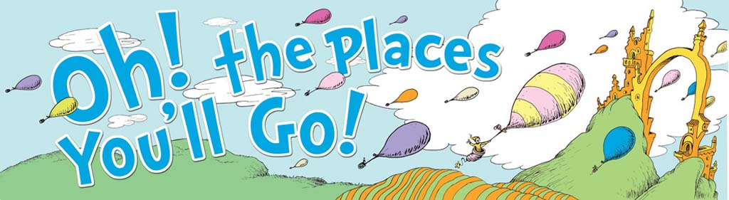 Oh the places youu0026#39;ll go oh the places you ll go clipart 9
