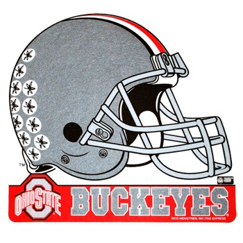 Ohio State University Rico Football Helm-Ohio State University Rico Football Helmet Felt Pennant Clipart-13