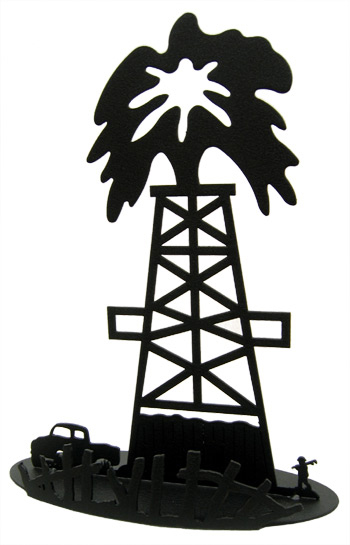 Oil Derrick Clip Art