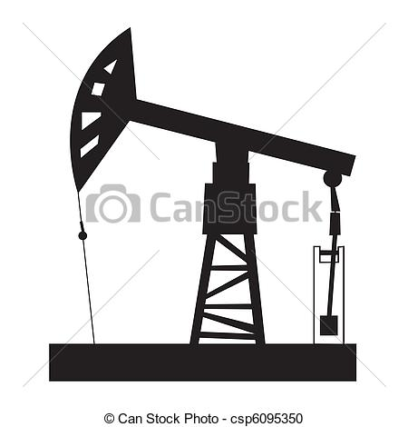 Oil Derrick Clipartby waveswebdesign208/16,034; Oil rig - Illustration of oil rig