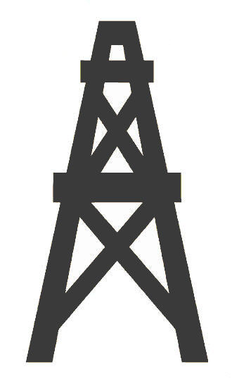 Oil Drilling Site Clipart .