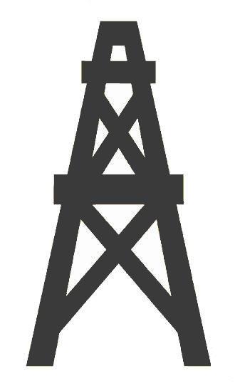 Oil Rig Cartoon Design