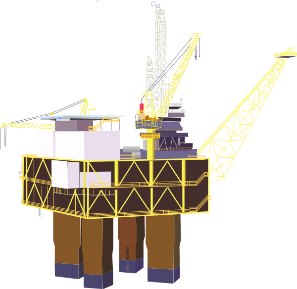 Oil Rig Clip Art At Clker Com Vector Clip Art Online Royalty Free