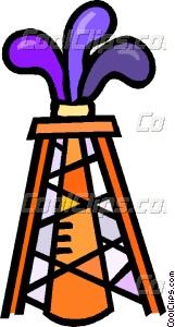 oil well striking oil-oil well striking oil-11