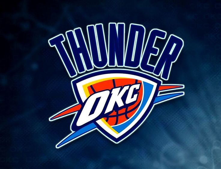 OKC Thunder NBA Logo-OKC Thunder NBA Logo-13