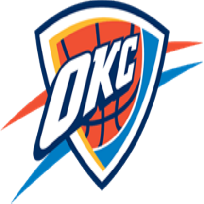 Oklahoma City Thunder logo-Oklahoma City Thunder logo-10