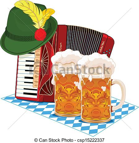 Oktoberfest Banners Clip Artby Tatus8/17-Oktoberfest banners Clip Artby tatus8/175; Oktoberfest design - Oktoberfest design with accordion, beer.-8