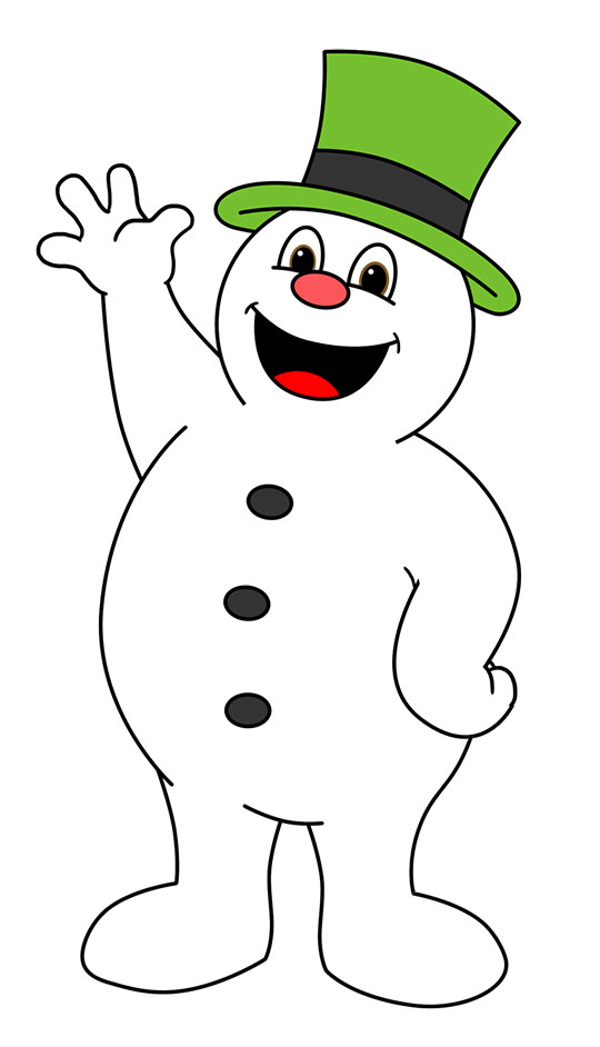 Olaf The Snowman Clipart .