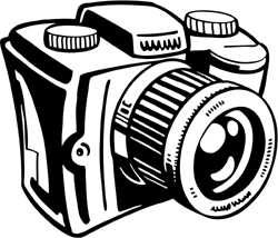 Old camera clipart free clip