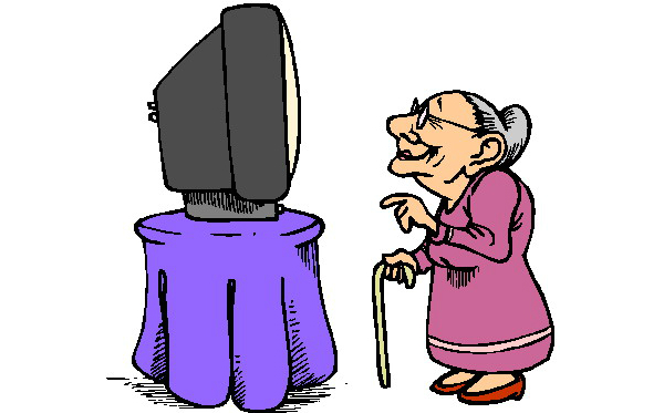 Old Lady Clip Art Cliparts Co