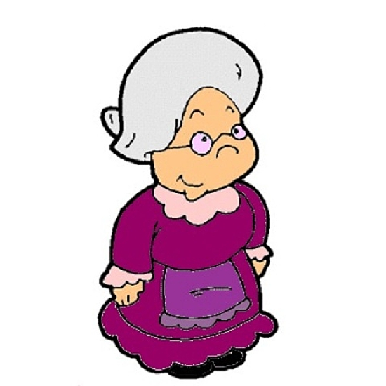 Old Lady Clip Art Free