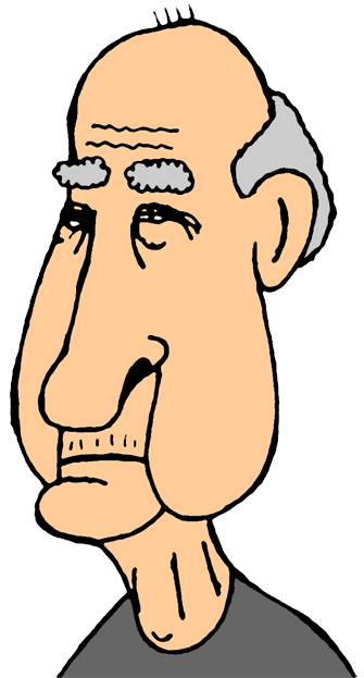 Old Person Cartoon Clipart Best