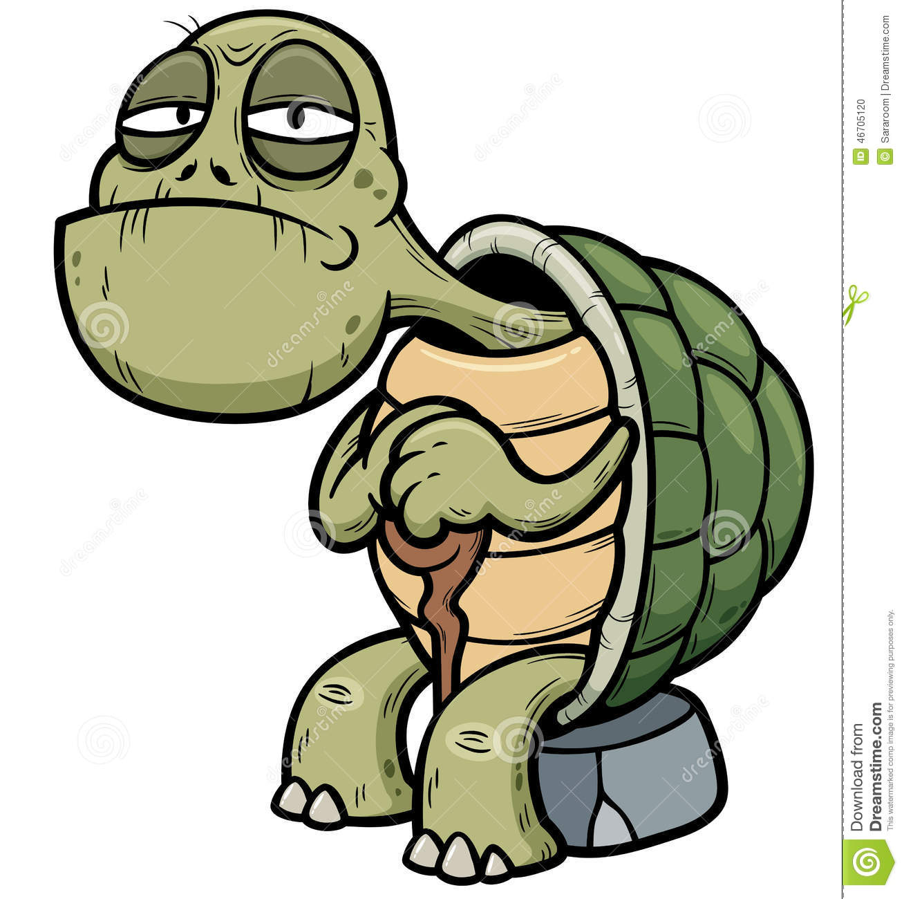 Old Turtle Clipart-old turtle clipart-16
