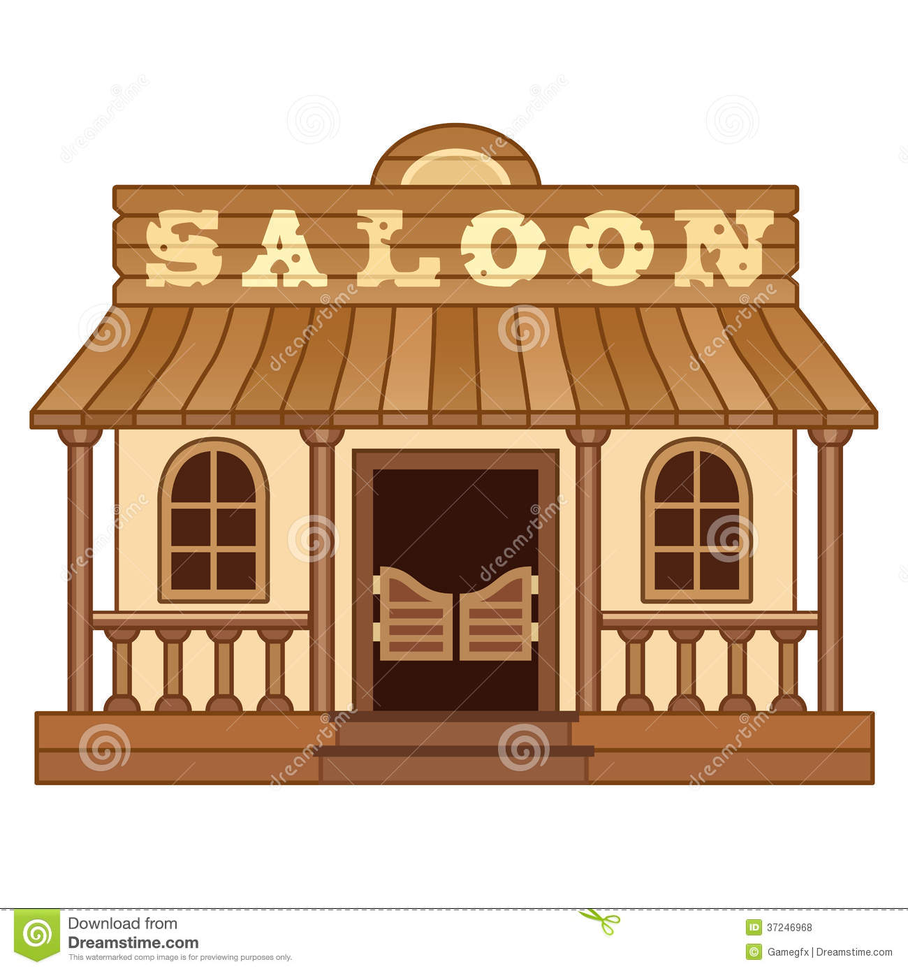 Old Western Saloon Clipart-Old Western Saloon Clipart-6