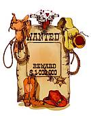 Old Wild West Wanted Poster ...-old wild west wanted poster ...-9