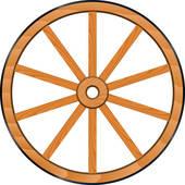 Wagon Wheel Clipart