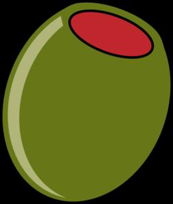 Olive At 20 Deg Angle Clip Art At Clker Com Vector Clip Art Online