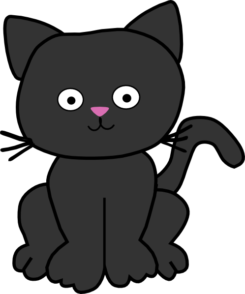 Olllection of cat cliparts . - Cat Clipart Free