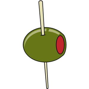 On A Toothpick clip art .-On A Toothpick clip art .-5