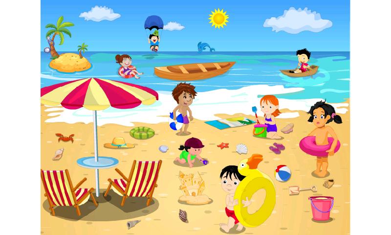 On The Beach Clipart-On The Beach Clipart-15