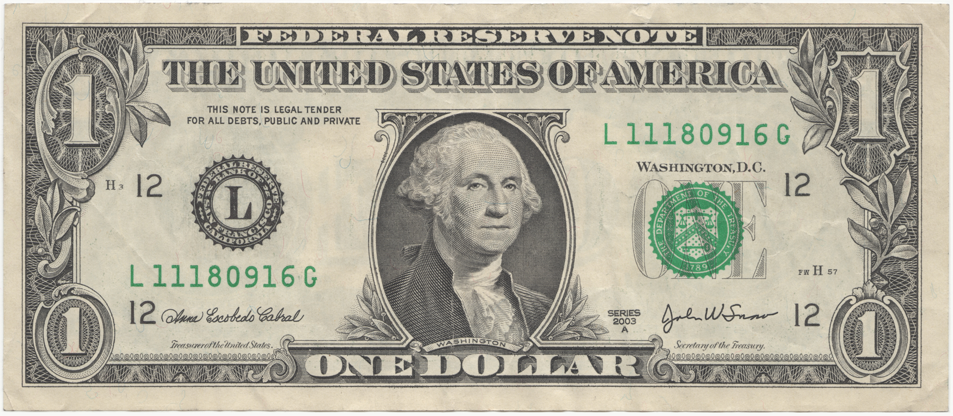 One Dollar Bill Clipart Hiding In The Dollar Bill