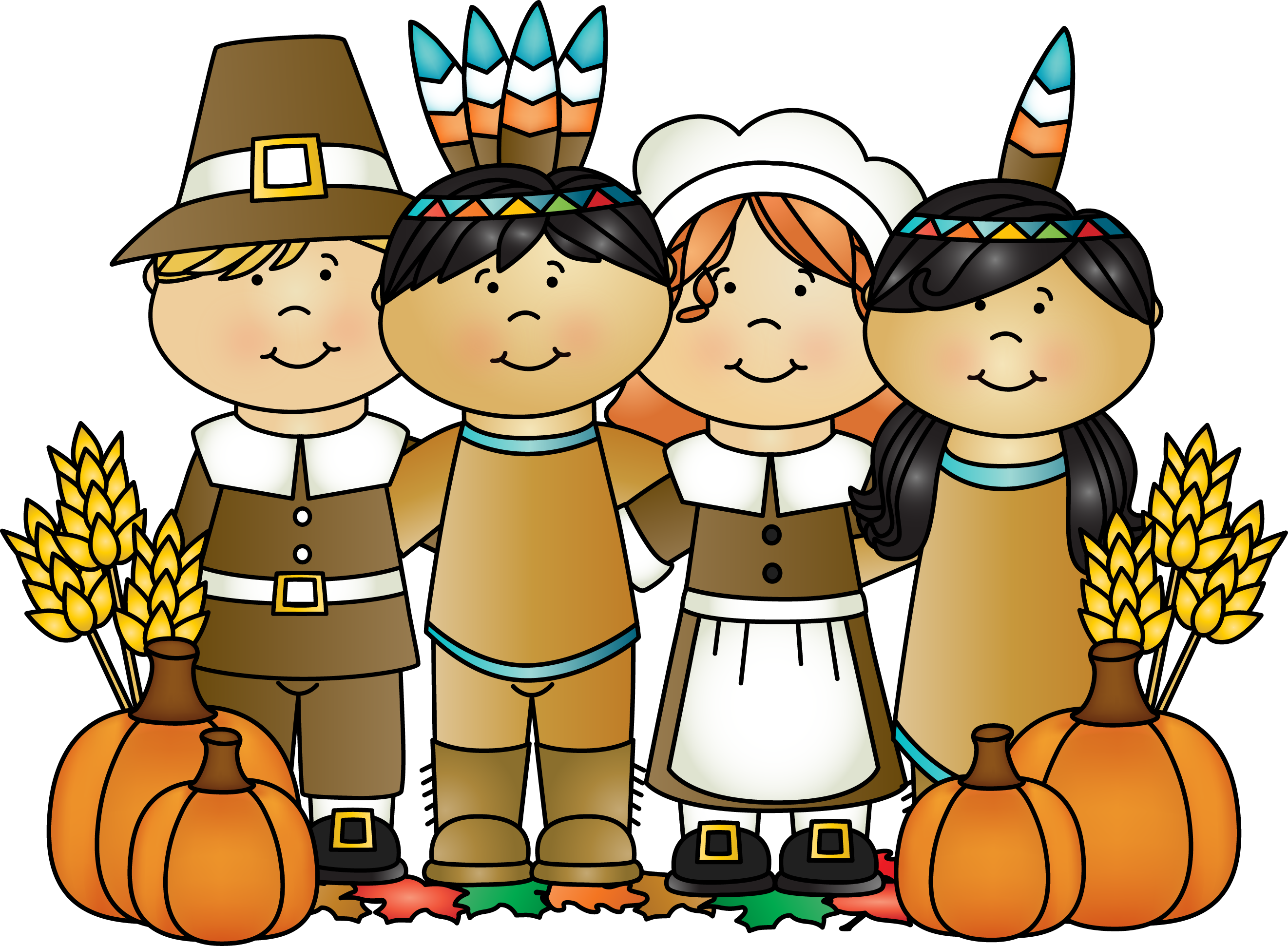 One Of The Indians Who Was Called Squant-One of the Indians who was called Squanto came to help the Pilgrims for a while, and he showed them how to plant corn, pumpkins, wheat and barley.-14