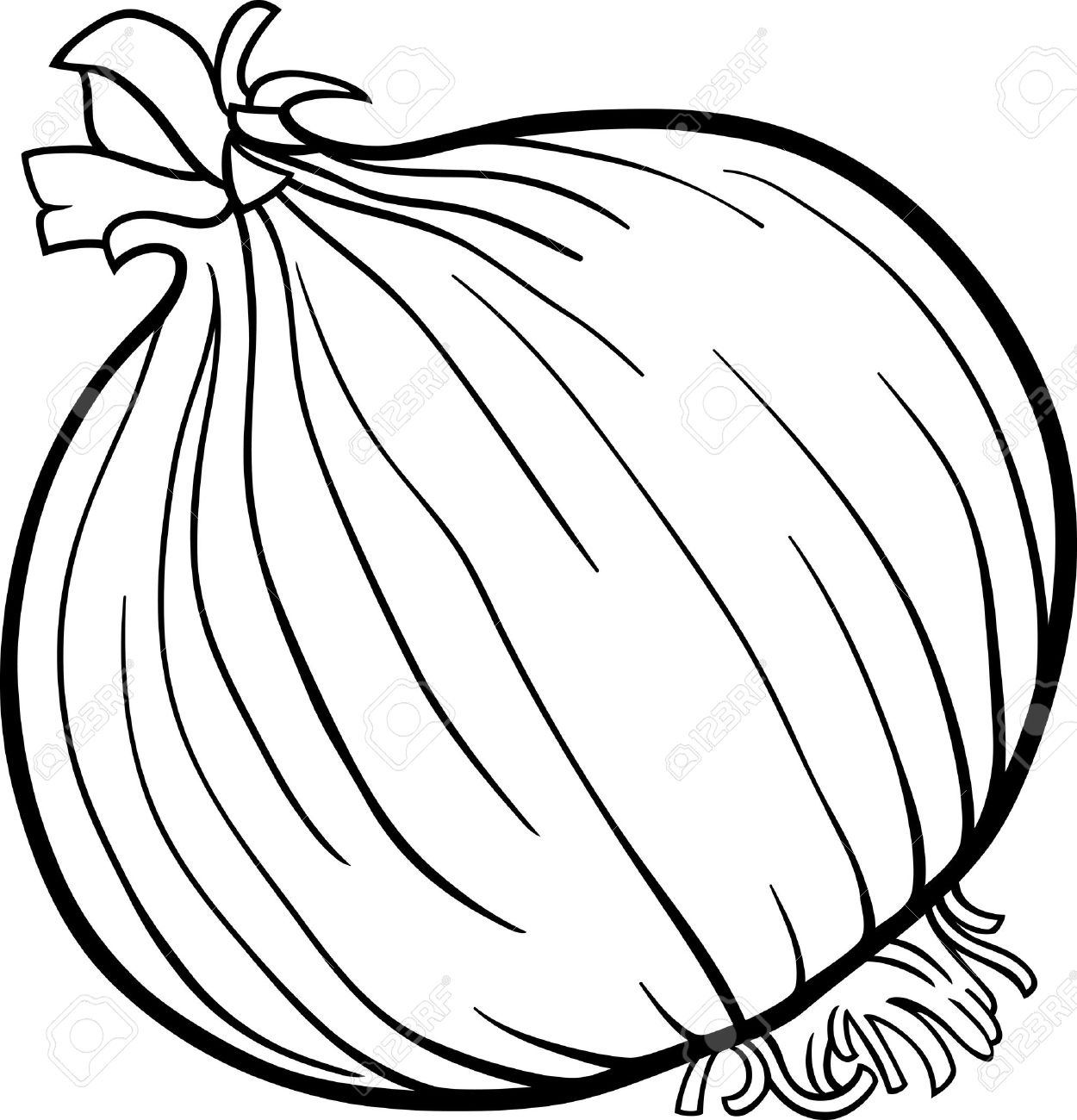 Clipart Of Onion
