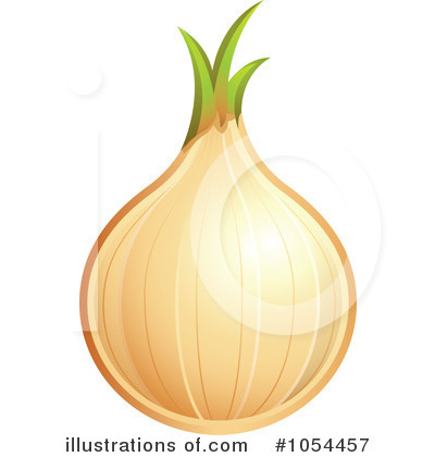 Royalty-Free (RF) Onion Clipart Illustration #1054457 by TA Images