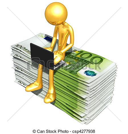 ... Online Banking - A Concept And Prese-... Online Banking - A Concept And Presentation Illustration In..-7