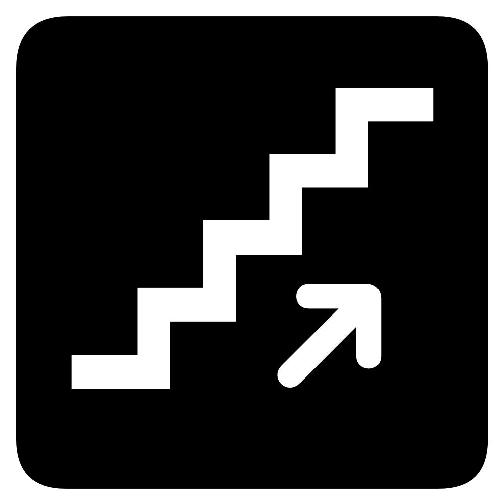 OnlineLabels Clip Art - Aiga Stairs
