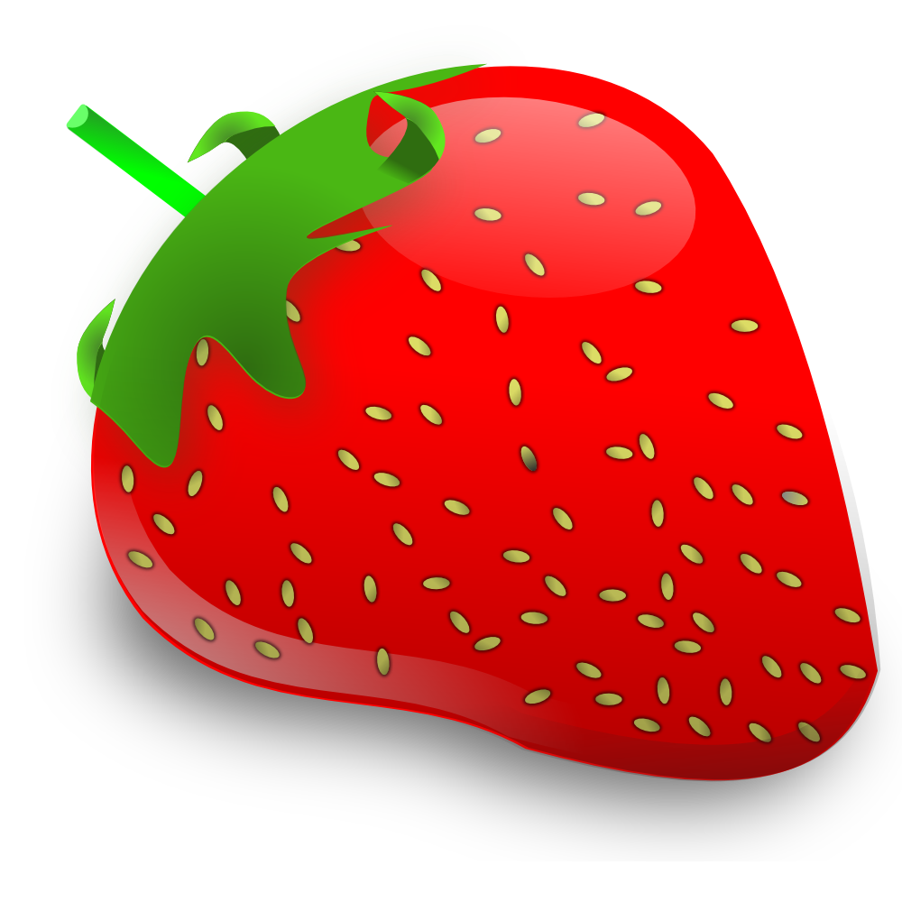 Onlinelabels Clip Art Strawberry