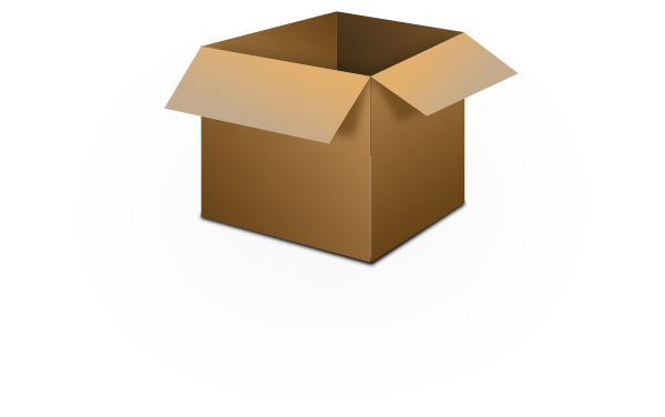 Open Box Clipart-open box clipart-2